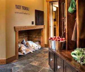 Rustic entryway ideas entry rustic with pet friendly dog ...