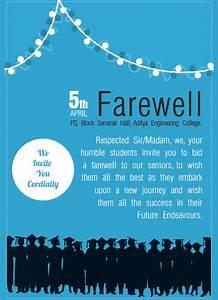 Formal Party Invitation Template Free 8 Sample Farewell Invitation Templates In Pdf Psd