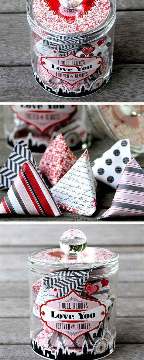 Valentine's day gifts to him means a lot because after his mom his girlfriend is the only one who takes care of him and gets happy in his happiness and she is with him in every phase of life, if you want to make her your permanent life partner. 45 DIY Valentine's Day Gifts and Decorations for Him ...
