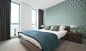 Wallpaper in the bedroom, master bedroom wallpaper modern ...