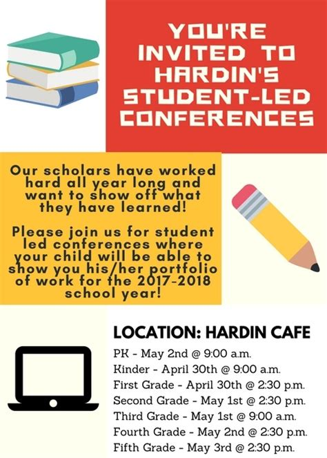 hardin student lead conferences