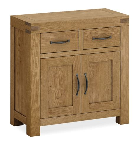 Mini Sideboards by Sherwood Oak Mini Sideboard Wax Finish Fully Assembled