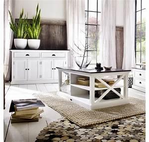 Table Basse Blanc Bois : table basse bois blanc collection leirfjord contrast table salle manger s jour ~ Teatrodelosmanantiales.com Idées de Décoration