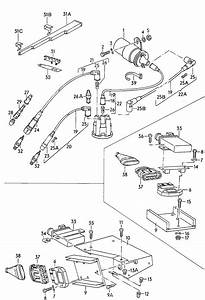 1986 Volkswagen Cabrio  Cabriolet Ignition Transformer  Ignition Coil  Fuel Injec  Engine  3 Pin