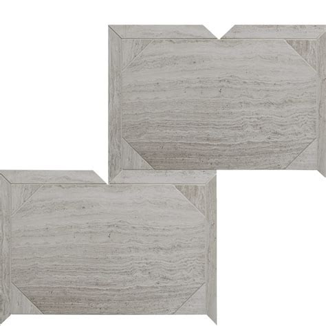 Haisa Light Honed Serie Parquet Marble Mosaics 12 1/4x16 3