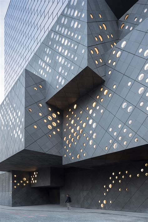 art center topped  floating glass box opens  beijing