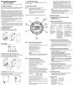 Operating Instructions Mil 72  1 Digi 20