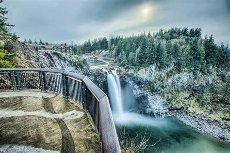 snoqualmie falls washington beautiful waterfalls