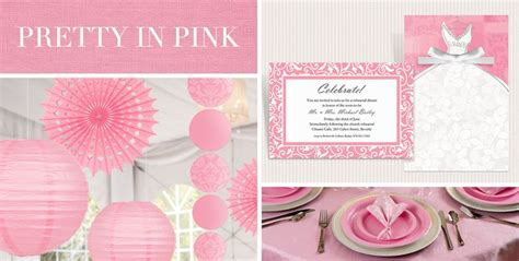 pink and gold birthday decorations canada shop by color wedding decorations supplies