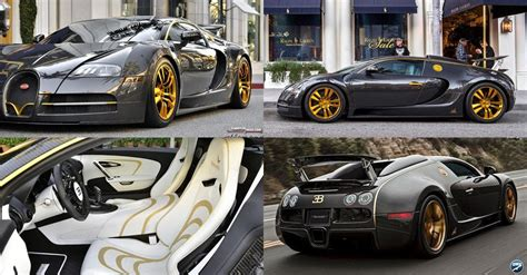 But since we have never reported about the bugatti veyron vincero d'oro, we thought that we would send you some information and pictures of this unique piece. Bespoke Mansory Bugatti Veyron Linea Vincero d'Oro For Sale