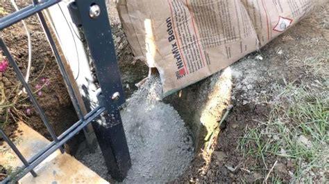zaunpfosten einbetonieren anleitung zaunpfosten einbetonieren wie tief pfosten anleitung kg rohr kearnymesaplanninggroup org