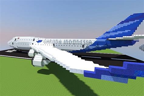 Minecraft Boat Plane by Boeing 747 Minecraft Project
