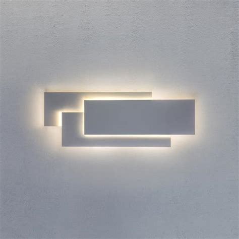 led white wall panel light in contemporary design