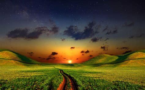 绿色清新护眼风景壁纸_超清新好看壁纸_风景壁纸_精品库