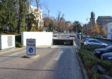 Parken Im Parkhaus Regeln Vorschriften Tipps by Tiefgarage Kurhaus Wiesbaden Contipark