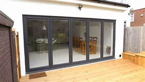 bifold doors and skylight installation in southgate north With bifold doors with windows
