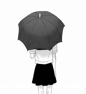Girl Holding Umbrella Drawing Pictures to Pin on Pinterest ...