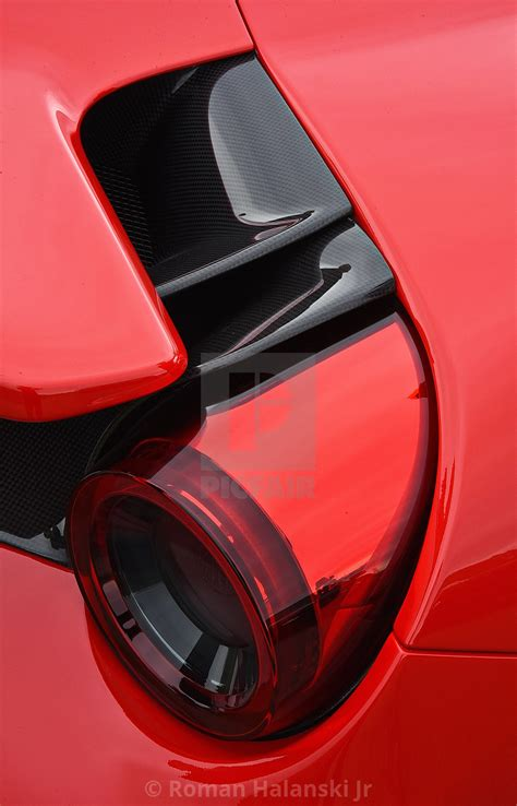 Image result for ferrari 488 tail light ferrari 458 italia. Ferrari F8 Tributo Tail Light - License, download or print for £1.49 | Photos | Picfair