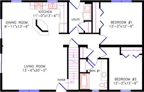 house plans with open floor plan chalet