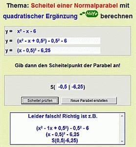 Normalparabel Berechnen : m rz 2012 realmathwiki ~ Themetempest.com Abrechnung