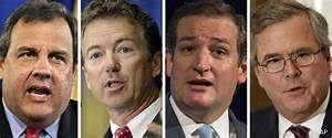 PPP Poll: 4 GOP Presidential Frontrunners in Virtual Tie ...