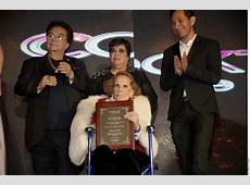 Homenajean a Rosita Quintana El Vigía