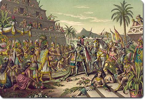 Cuantos Eran Los Barcos De Cristobal Colon by Conquista A Mexico Conquista De America