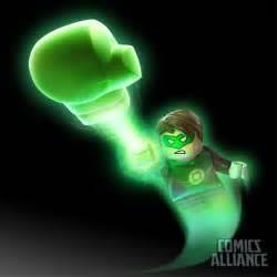the green lantern 2 a look at green lantern in lego batman 2 dc heroes