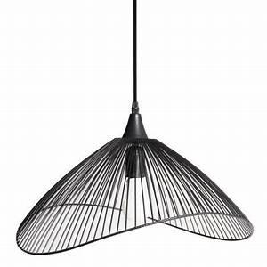 Suspension Noire Design : suspension design kastelli m tal noir 1 x 40 w seynave rayon luminaire pinterest ~ Teatrodelosmanantiales.com Idées de Décoration