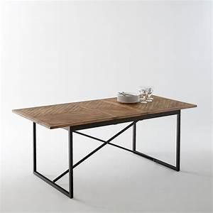 Petite Table Avec Rallonge : table allonges nottingham pin cir la redoute interieurs la redoute ~ Teatrodelosmanantiales.com Idées de Décoration
