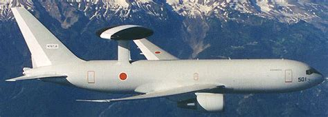 Boeing 767 AWACS Airborne Warning and Control Aircraft ...