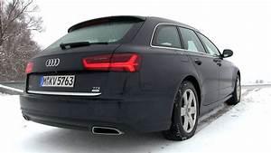 Audi A6 Avant Ambiente : 2015 audi a6 avant 2 0 tdi ultra 190 hp test drive youtube ~ Melissatoandfro.com Idées de Décoration