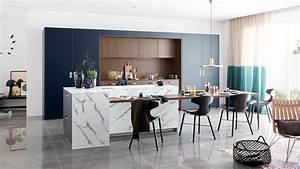 Amenagement de cuisine avec ilot mobalpa for Petite cuisine équipée avec meuble contemporain salle a manger