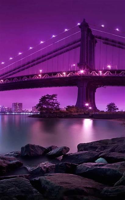 Kindle Fire Bridge Hdx Brooklyn Night Wallpapersafari