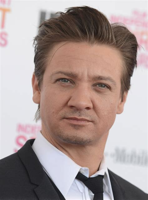 Jeremy Renner Hairstyles Hair Photo
