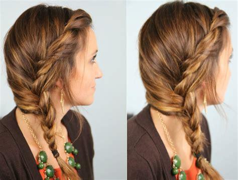 easy hairstyles  long  medium hair hairstyles