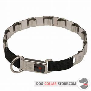 Order Stainless Steel Nech Tech Dog Collar | Click Lock System