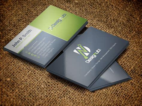 professional business card design template designub