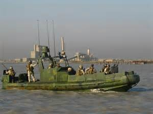 Military River Patrol Boat