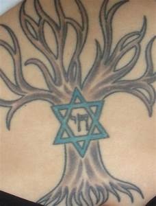 Tree of life, star of david, chai. Jewish hebrew tattoo ...