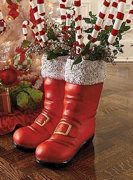 oversized santa boots santa boots indoor christmas