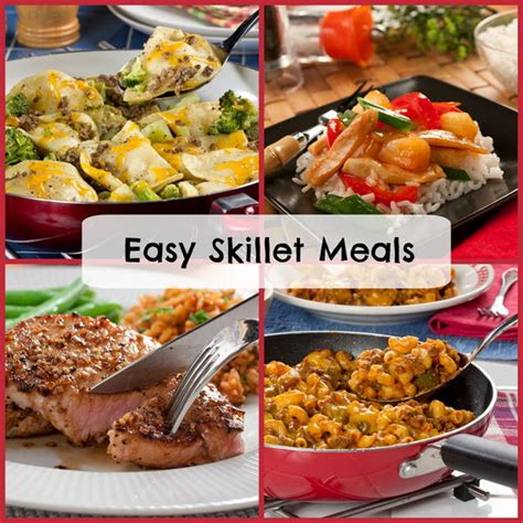iron skillet meals 38 easy skillet meals mrfood com