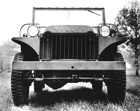 1941 Willys Ma Most Were Sent To The Allies In Russia