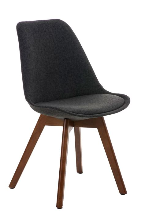 chair borneo walnut legs tweed seat conference dining