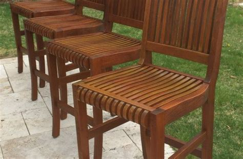 mahog furniture  teak seal  deck