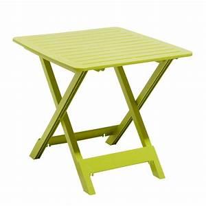 Petite Table Pliante : table pliante de jardin pas cher table basse et pliante ~ Teatrodelosmanantiales.com Idées de Décoration