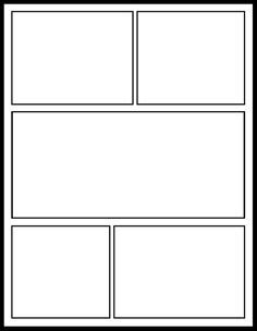 comic page template this is a blank graphic novel comic book template that can be used across all curriculum areas