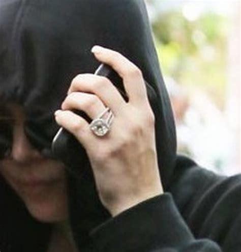 khloe engagement ring khloe wedding ring laundry