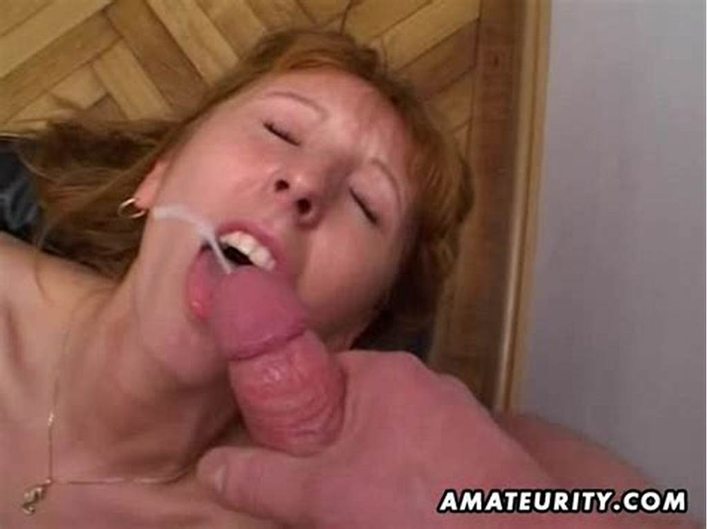 #Redhead #Amateur #Milf #Double #Blowjob #Anal #And #Double