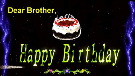 happy birthday video greeting ecard  brother youtube